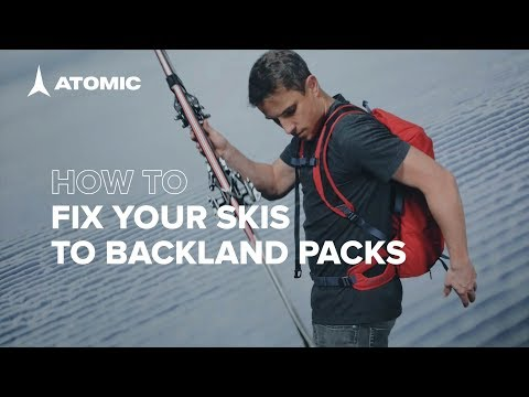 How To Fix Your Skis To Atomic Backland Packs