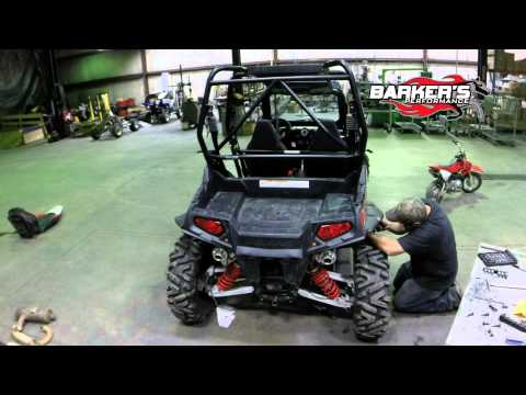 Barker's Exhaust RZR 800 vs Stock - Installation & Test Runs
