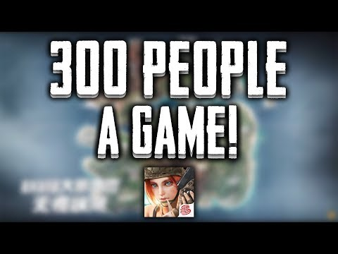 300 Person Gamemode SOON! | Rules Of Survival