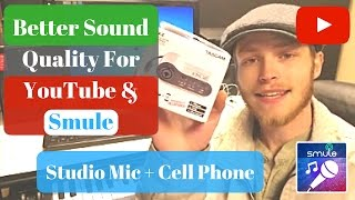 Video Better Sound Quality for YouTube and Smule (Studio Mic+ Phone) download MP3, 3GP, MP4, WEBM, AVI, FLV Juli 2018