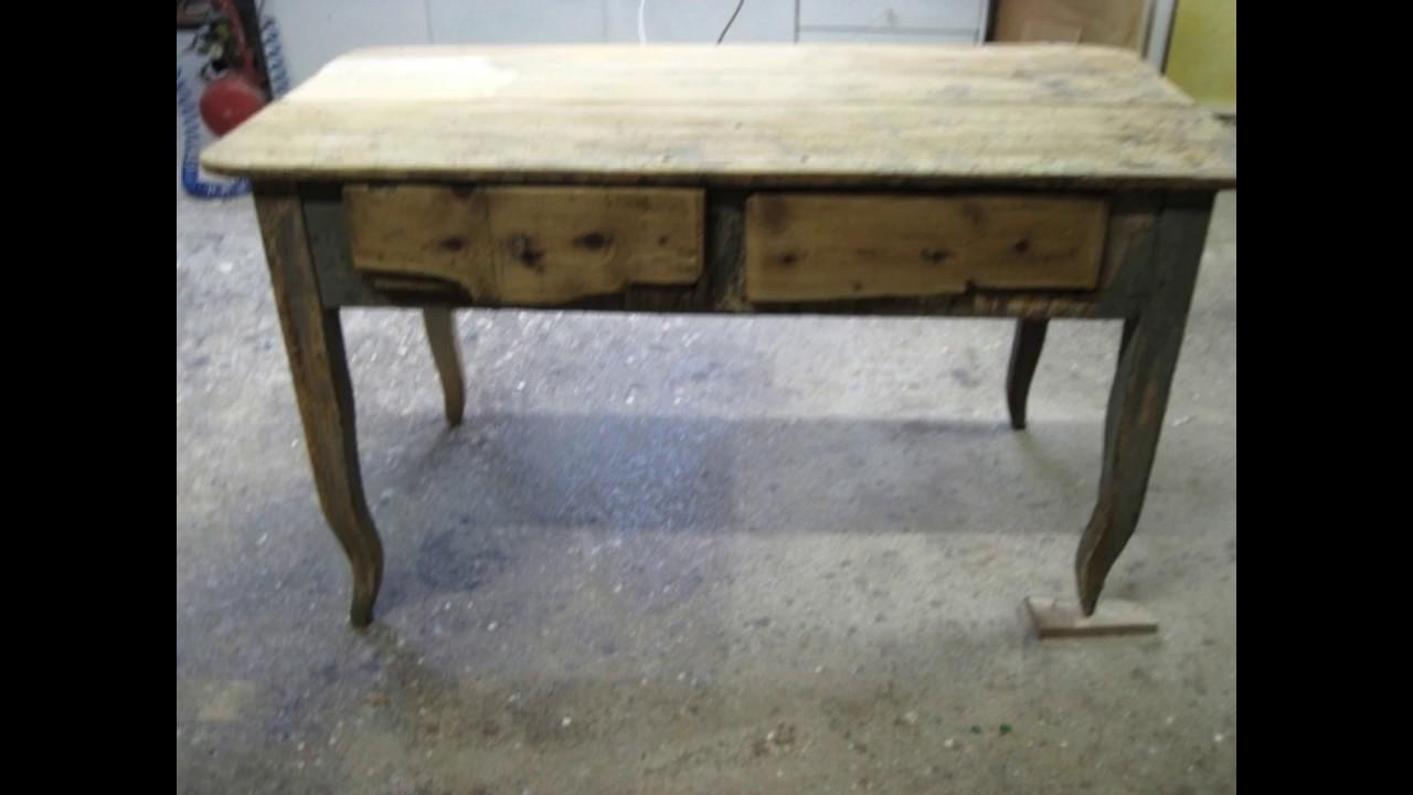 Restaurare Tavolo Legno Rovinato restauro di un tavolo