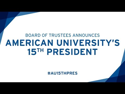 Sylvia Mathews Burwell Announced as American University's 15th President
