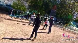 Урок физкультуры в младшей школе