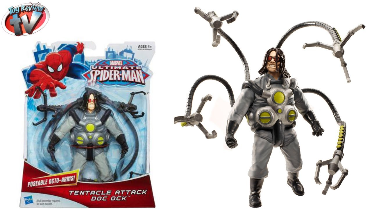 Ultimate Spider Man Tentacle Attack Doc Ock Figure Toy
