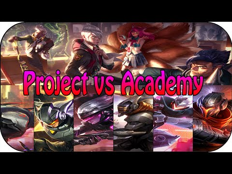 PROJECT vs ACADEMY - 5v5 Themen Battle [ger]