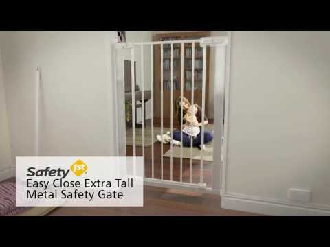 Safety 1st Easy Close Extra Tall Metal Safety Gate