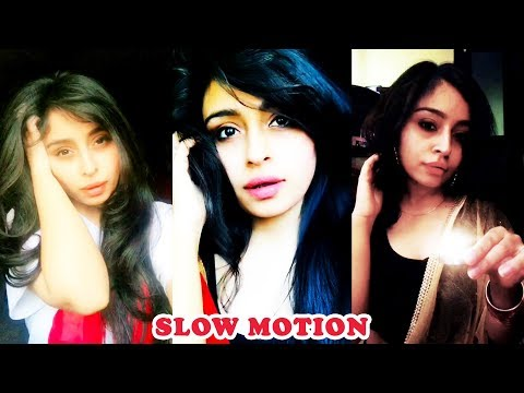 BEST Vitasta Bhat Slow Motion Musical.ly Compilation 2018 | Slow Motion Queen India