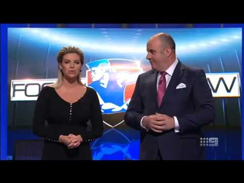 The Footy Show - Craig Hutchison's Final Episode (20 July 2017)