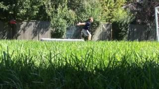 Learning A Backflip In 5 Days|My Backflip Progression