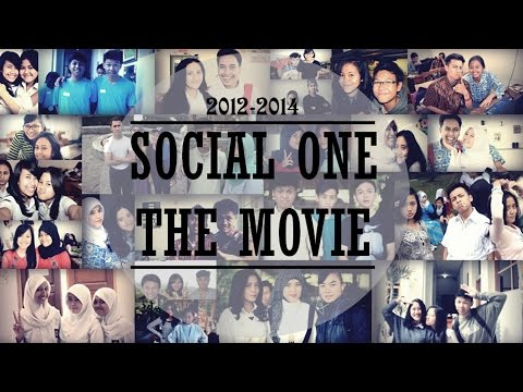 SOCIAL ONE 6'14 THE MOVIE