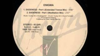 Download Enigma - Sadeness - Part I (12'' Extended Trance Mix) MP3 song and Music Video