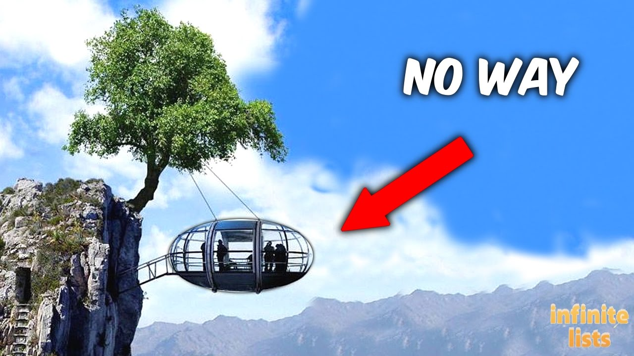 TOP 5 Most INSANE TREEHOUSES You Won't Believe Exist!