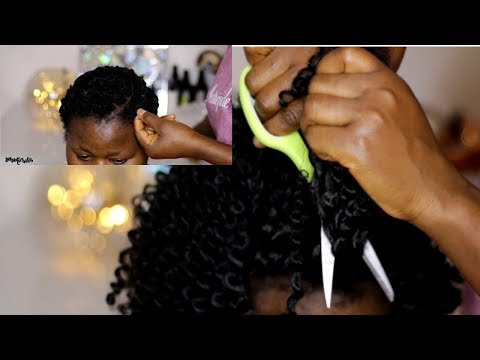 HOW TO TAKE DOWN THREADING METHOD CROCHET BRAIDS | HIGHLY REQUESTED