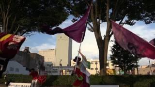 2017よさこい富山まつり旗の競演