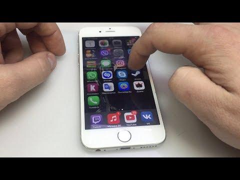 Как разблокировать айфон если экран не работает