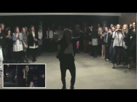 Cajun Flashmob   Surprise Birthday Engagement  Ben Bledsoe and Lindsey Dupuis