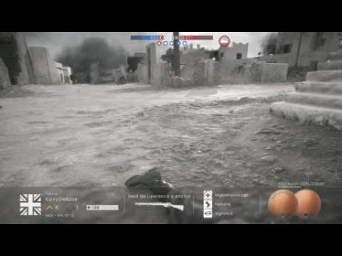 Battlefield 1 Gameplay PS4 fr 2018 bonne série de kill ? Ou pa?