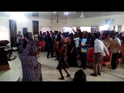 Rccg Ambassador parish Ghana  wt Sola Oladoyinbo