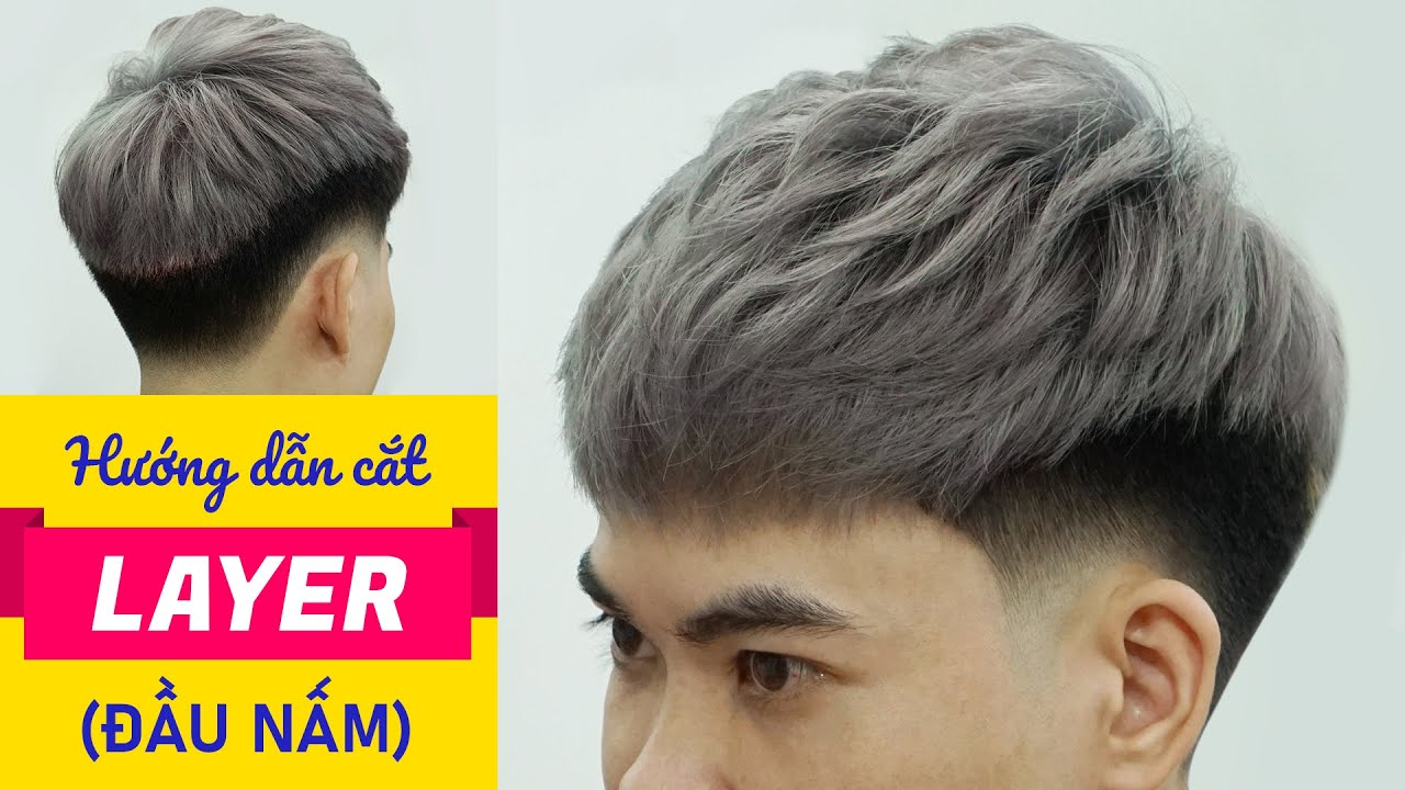 Hướng dẫn cách cắt kiểu tóc LAYER đẹp nhất VN – Cắt tóc nam đẹp 2020 – Chính Barber Shop