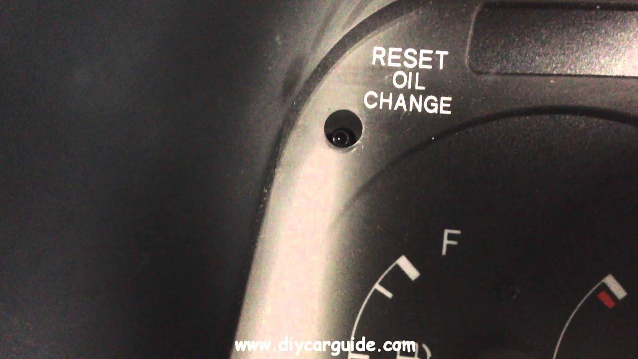 toyota hiace oil change reminder light reset - youtube