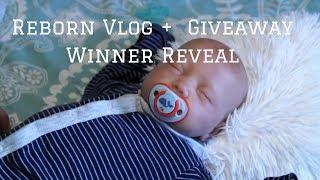 Reborn Vlog + Giveaway Winner l Reborn Life