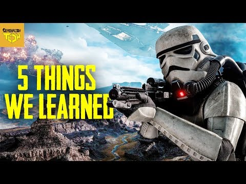 Understanding Combat in Star Wars | Battlefront Simulation thumbnail