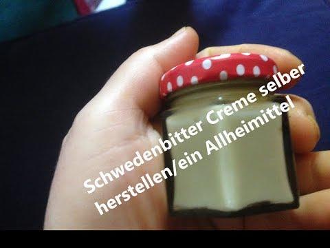Schwedenbittercreme selber herstellen/