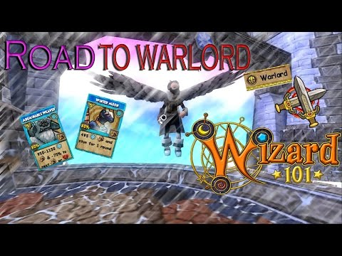 Wizard101: Prodigious Ice PVP  Road to Warlord