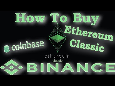 How to buy Ethereum Classic ETC with Coinbase(GDAX)