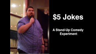 5 Jokes A Stand up Comedy Experiment