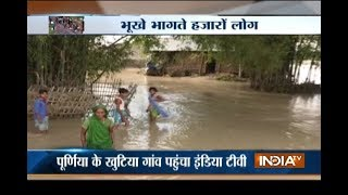 No relief from flood to people in Bihar, NDRF rescues 1000 people thumbnail