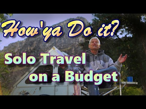 How'ya Do It? Solo Travel On A Budget
