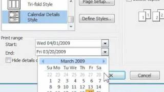 How to print a calendar in Outlook showing appointments and meetings(, 2009-08-17T02:25:29.000Z)