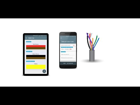 Telecom Color Code Android App