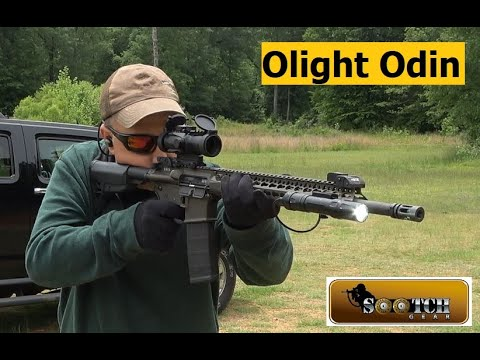 New Olight Odin Review & Torture Test: The Brightest WML on the Market!