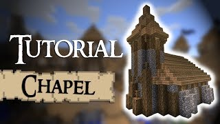 Minecraft Tutorial: How to build a medieval chapel YouTube