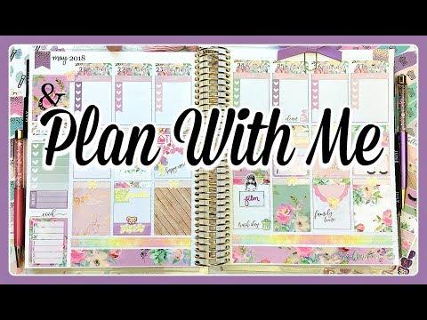 Plan With Me   Blooming Succulents   Erin Condren Life Planner