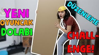 Barbie ve LOL Bebek Evi Eşyaları Düzenleme Challenge Yeni Oyuncak Dolabımız! Bidünya Oyuncak  🦄