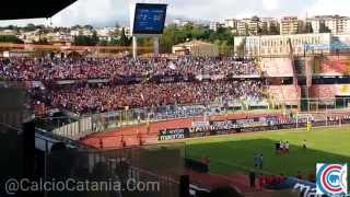 Catania Catanzaro 3-0  e la curva canta