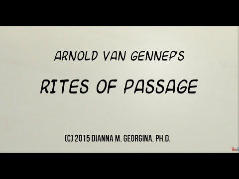 Van Gennep's Stages of Rites of Passage