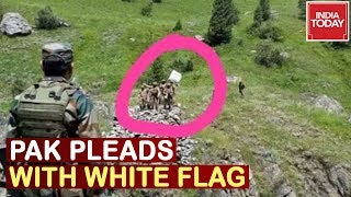 Pakistan Shows White Flag At LoC, 2 Pak Soldiers Dead In Hajipur | Watch Video