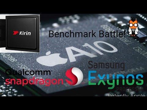 Benchmarks - The Apple iPhone 7 kills them all - vs SD 820, Exynos 8890 & Kirin 955