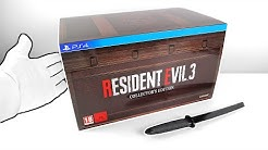 Resident Evil 3 Remake Collector's Edition Unboxing (SOLD OUT!)