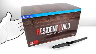 Resident Evil 3 Remake Collector's Edition Unboxing  Sold Out!