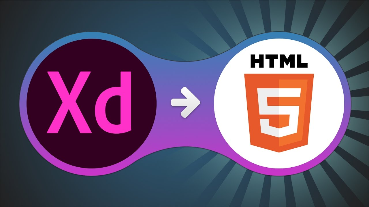 how to manually convert adobe xd design to html youtube