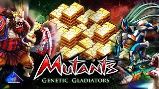 CONSIGUE ORO DE MANERA FÁCIL!!! / RETOS / MUTANTS GENETIC GLADIATORS / MGG