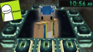 J'ai essayé de Speedrun Minecraft.. (meilleur que Dream ?)