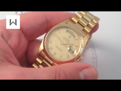 Rolex Oyster Perpetual Day-Date Watch Review