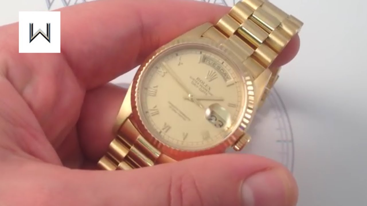 Rolex Oyster Perpetual Day,Date 18238 Luxury Watch Review