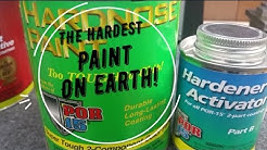 The Hardest Paint On Earth!